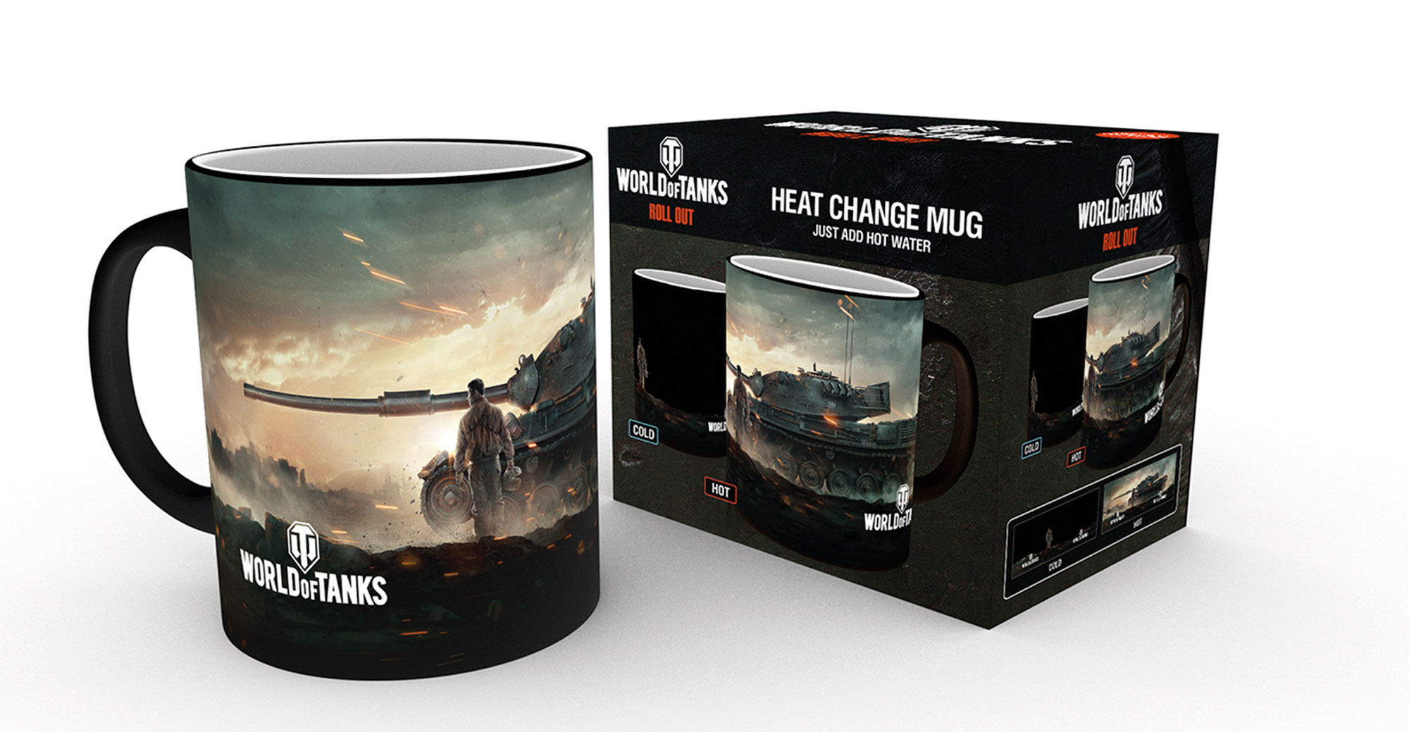 World of Tanks - Heat-Changing Mugs - Action Vorschau Sofa