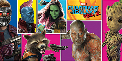 Poster - Guardians of the Galaxy 2 Shop