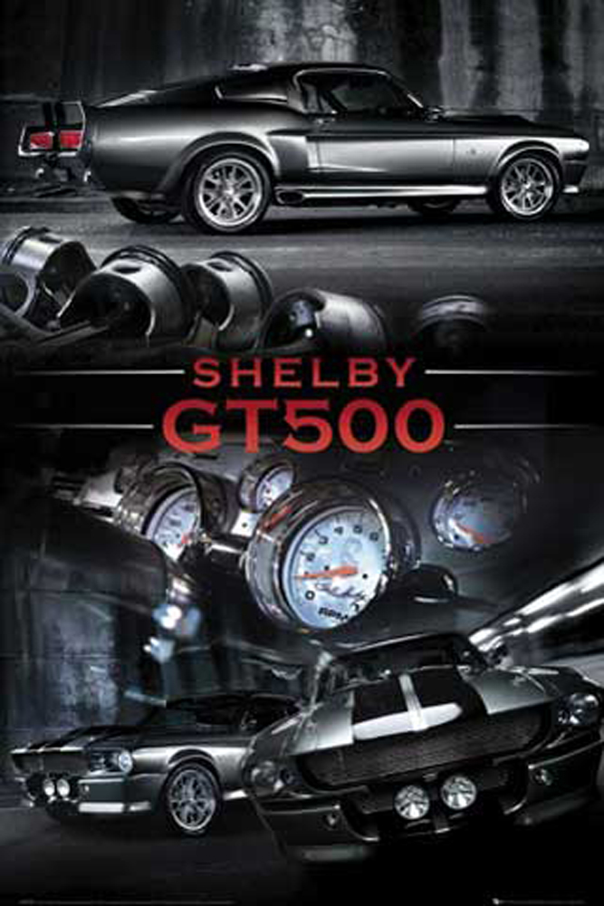 Autos - Ford Mustang Easton Shelby GT500 - Poster Druck - Größe ...