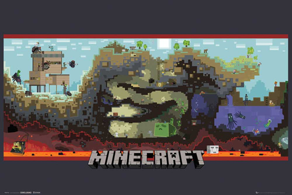 Minecraft Underground Open World Videospiel PC Underground - Minecraft videospiele