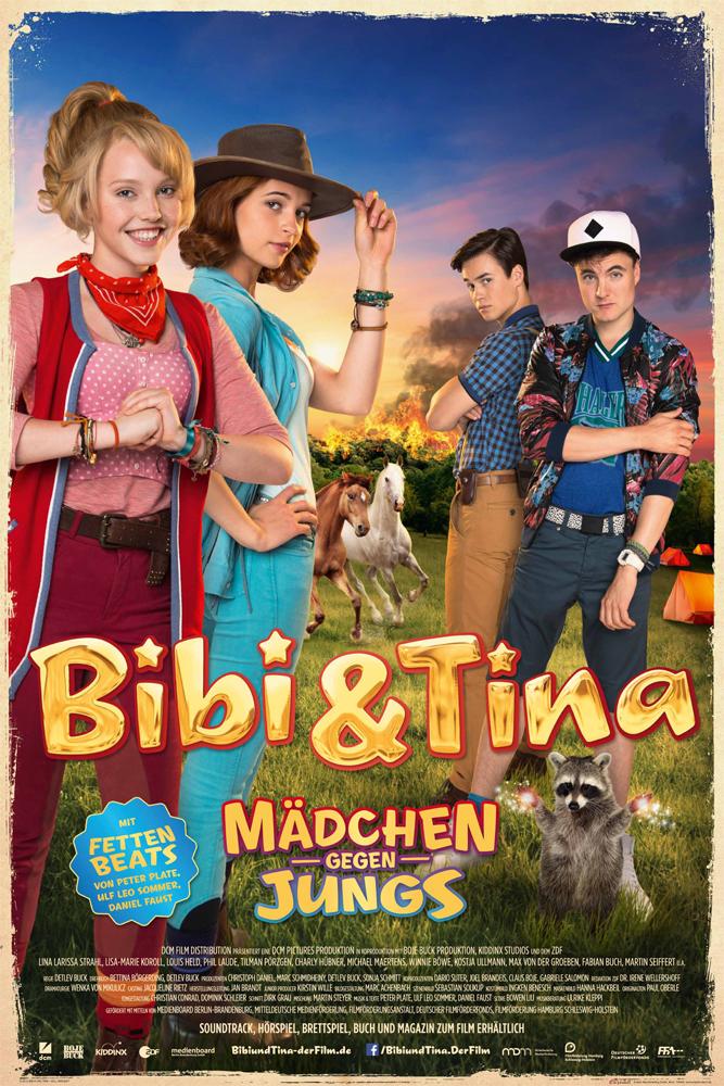 Indexbild 2 - Bibi & Tina - Mädchen gegen Jungs Blocksberg Film Poster Druck Grösse 61x91,5 cm