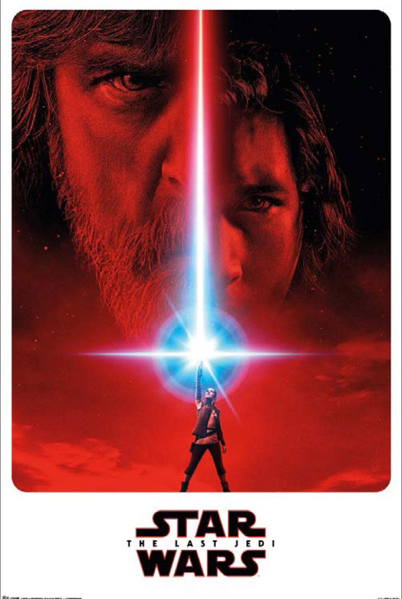 Star Wars - The Last Jedi - Teaser - Poster Plakat - Größe 61x91,5 ...