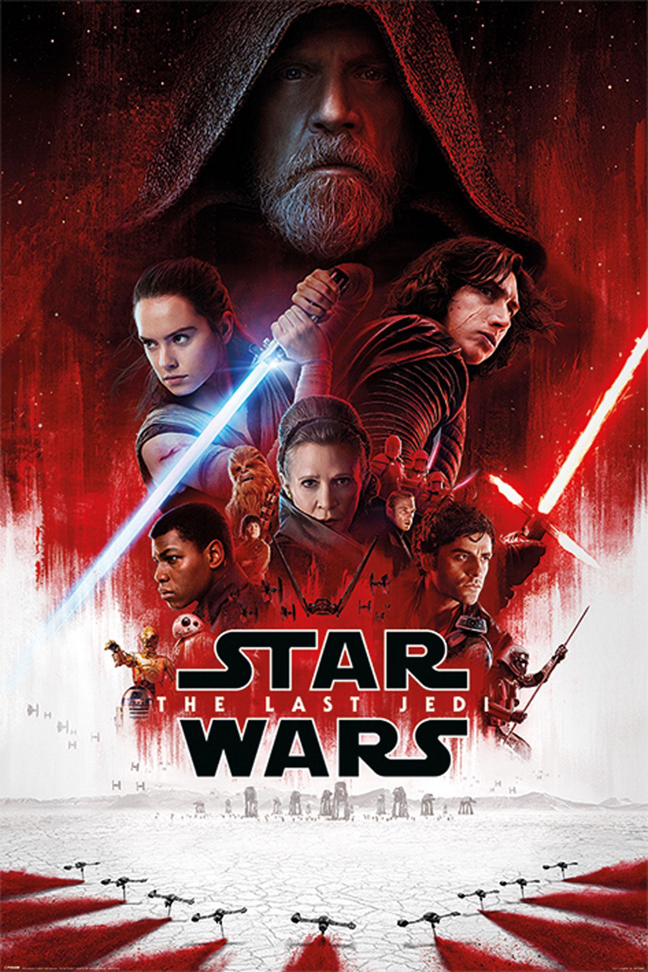 Star Wars - The Last Jedi - EP8 - One Sheet - Poster Plakat - Größe ...