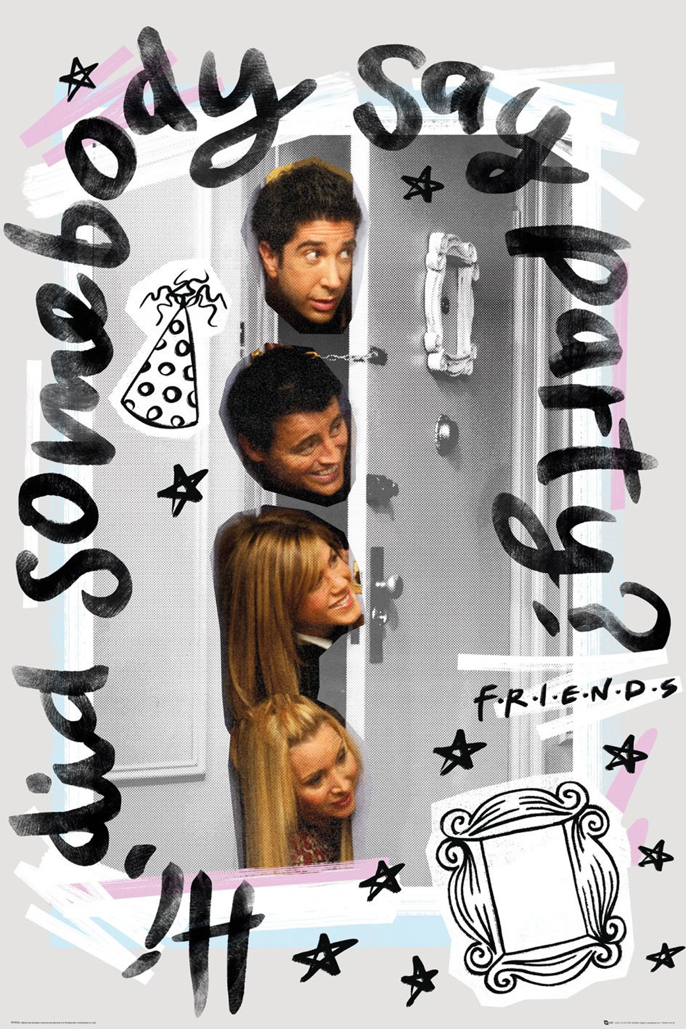 Friends - Party - Poster - 61x91,5