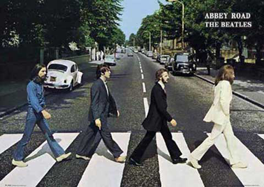 The Beatles - Poster - Abbey Road
