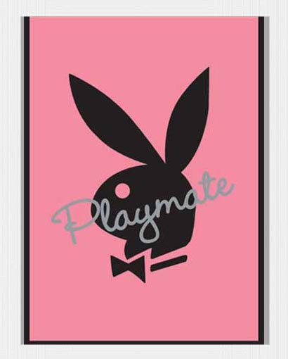 Playboy Playmate Bunny - Plakat Mini Poster Druck