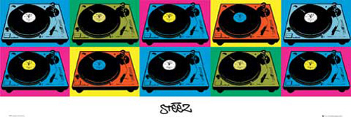 Steez - Türposter - Decks
