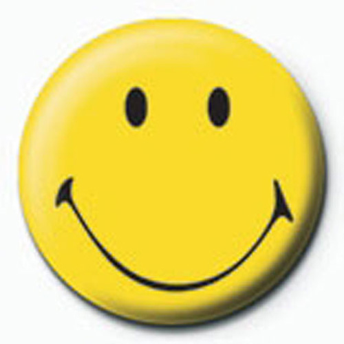 Smiley - Button Badge - Old Fashioned