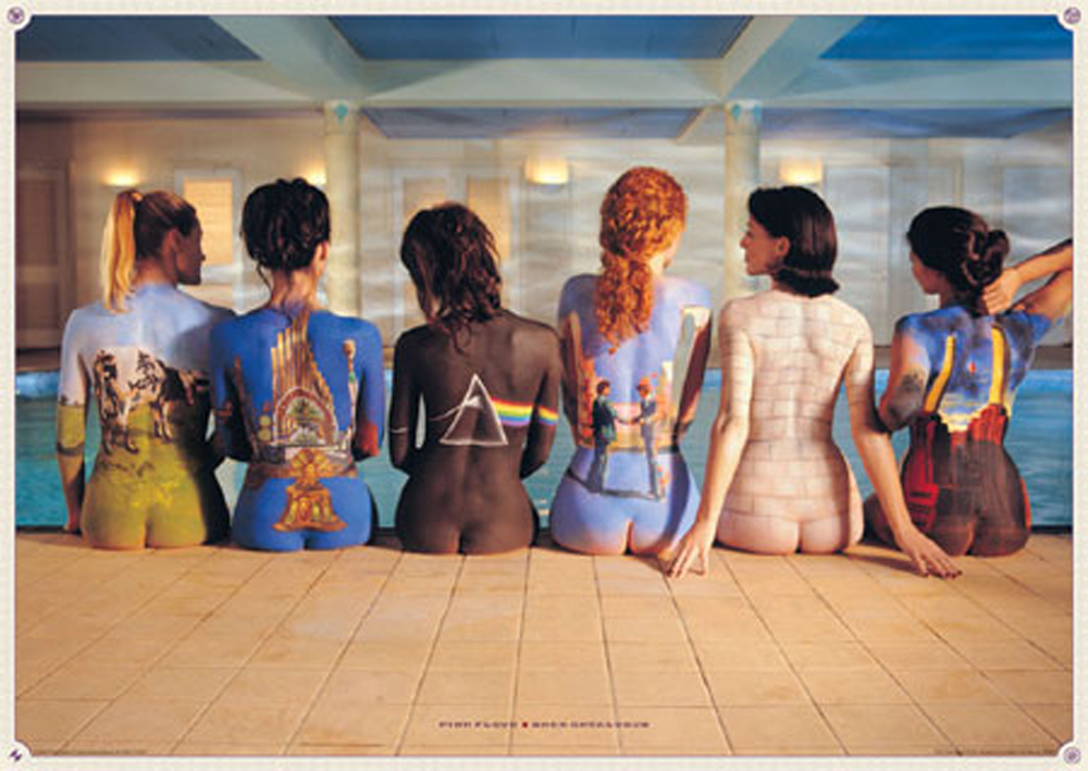 Pink Floyd - Poster - Back Catalogue Version 2