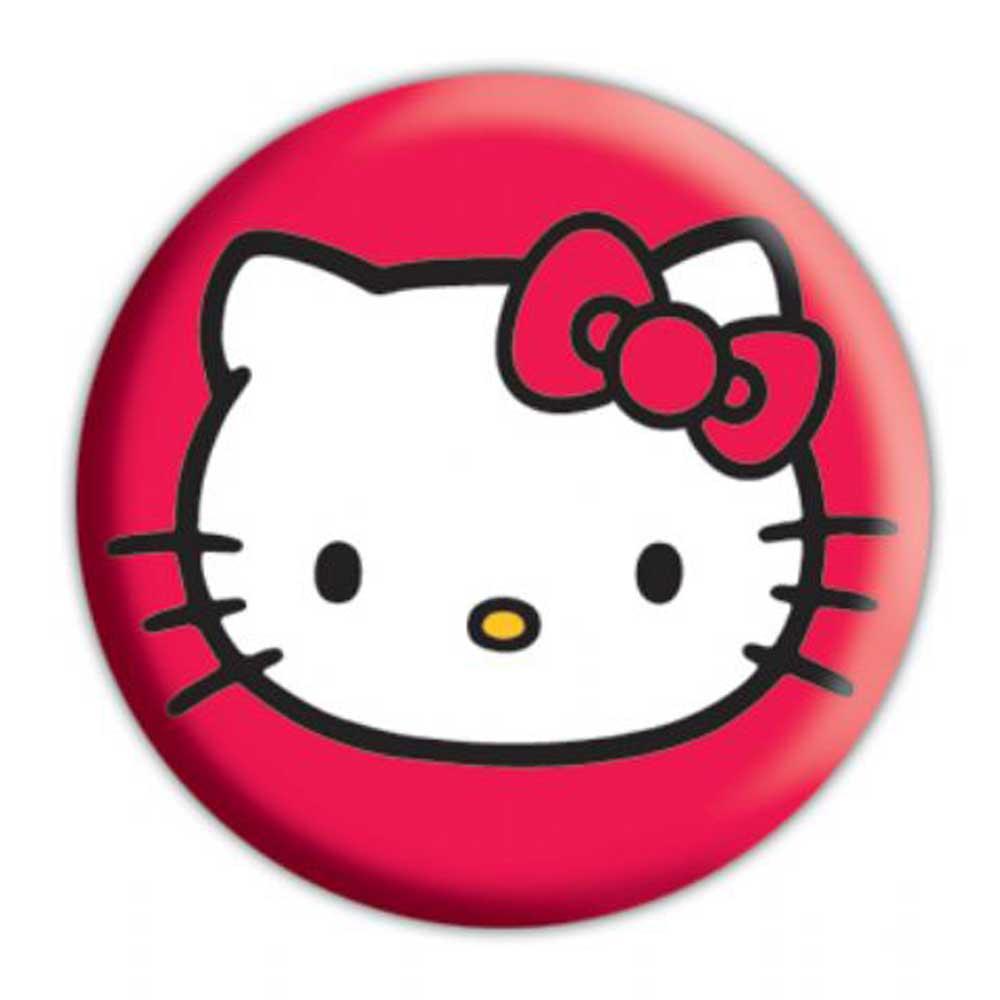 Hello Kitty - face - Button Badge - Ø2,5