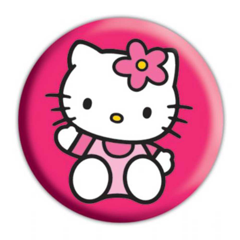 Hello Kitty - wave - Button Badge - Ø2,5