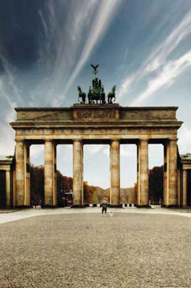 Deutsche Stadte Berlin Brandenburger Tor Tag Poster 61x91 5