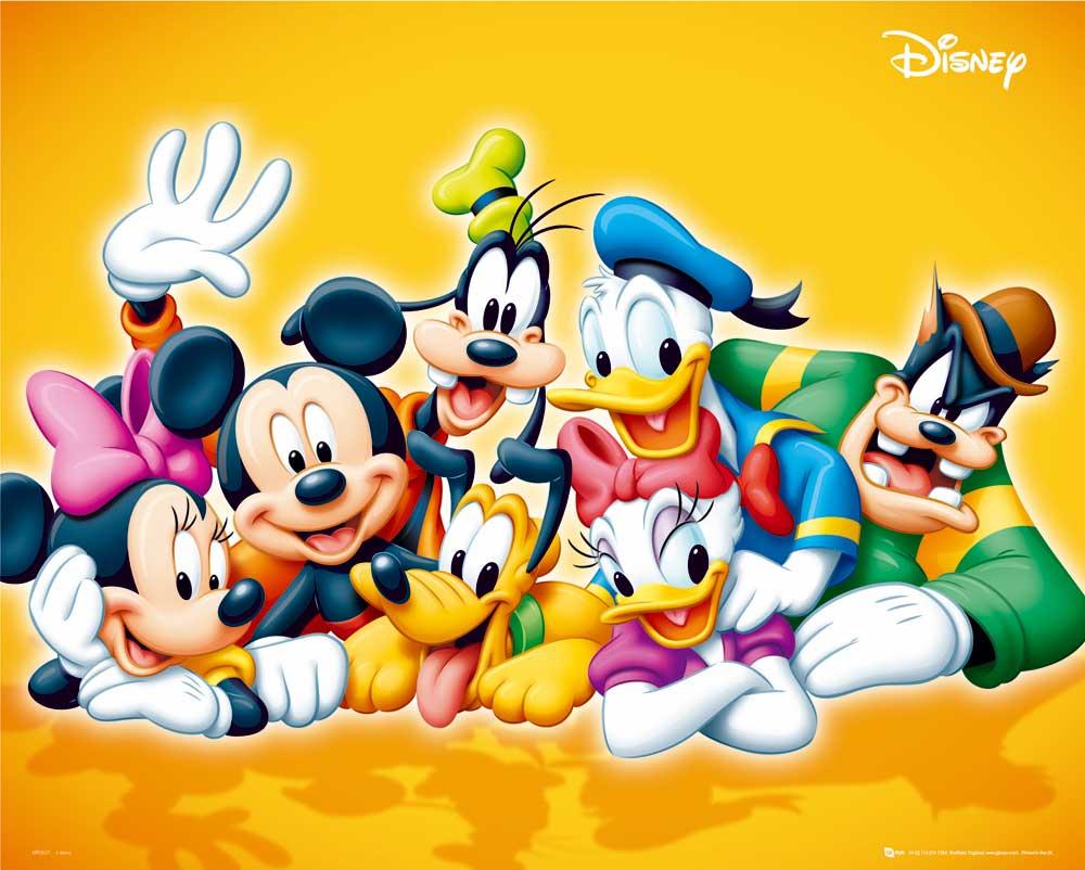 Disney Cartoons Characters Wallpaper