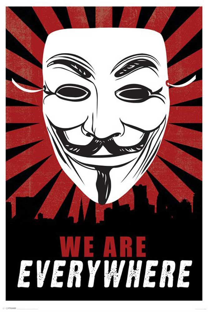 Guy Fawkes - Poster - We Are Everywhere