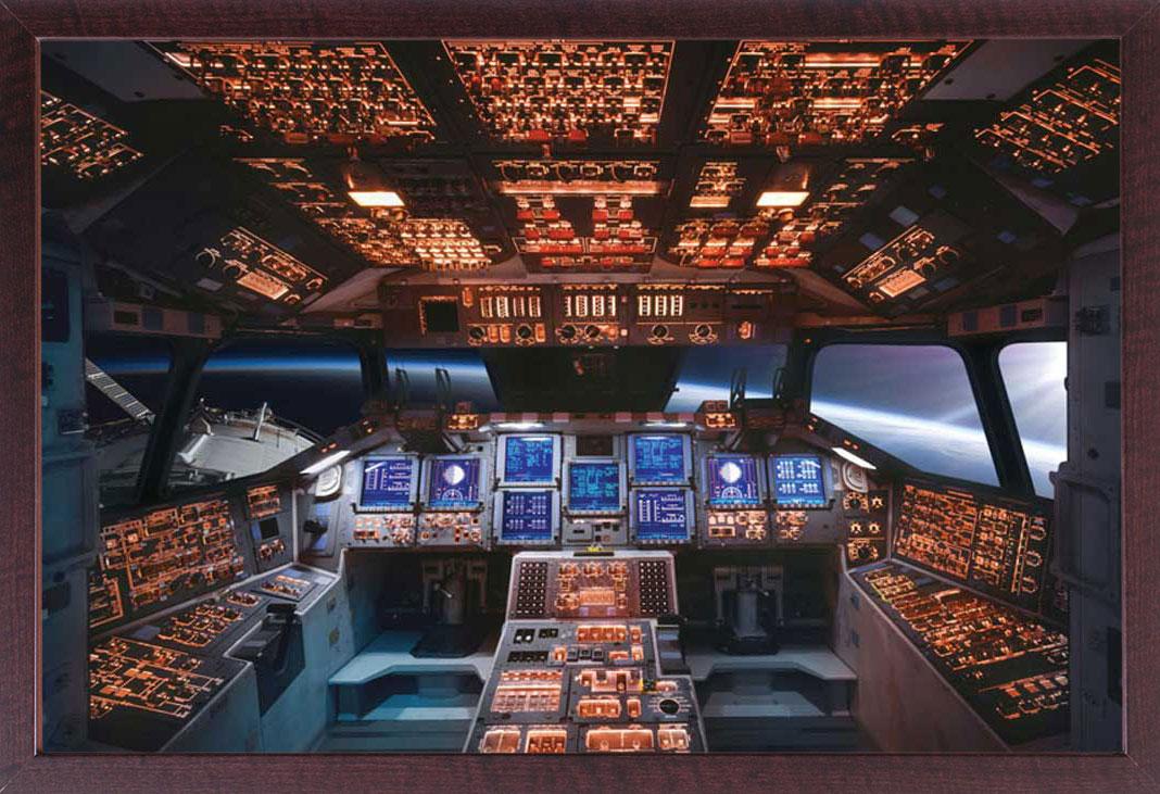 space shuttle cockpit poster - photo #18