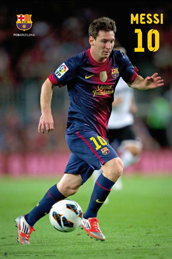 fußball  barcelona  messi 1213  poster  61x915