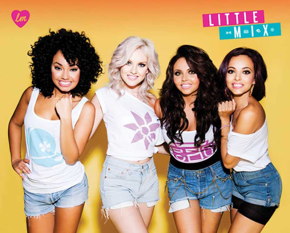 Little Mix - Mini-Poster - Group