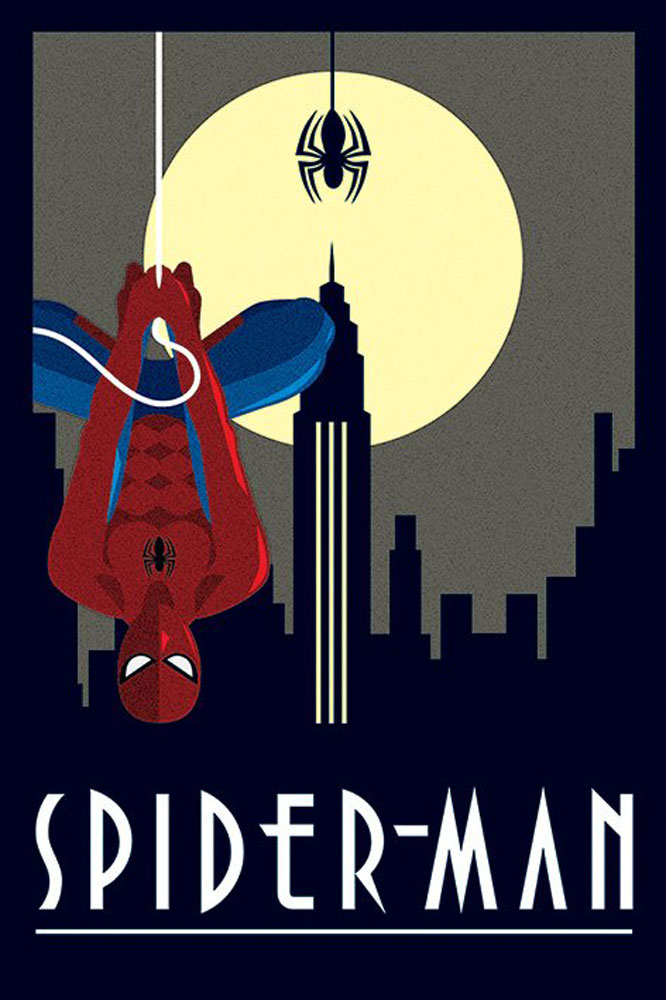 Marvel - Poster - Deco - Spider-Man Hanging