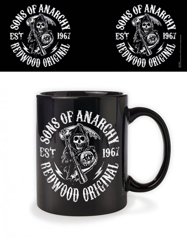Sons of Anarchy  - Lizenz Tassen - Redwood Original