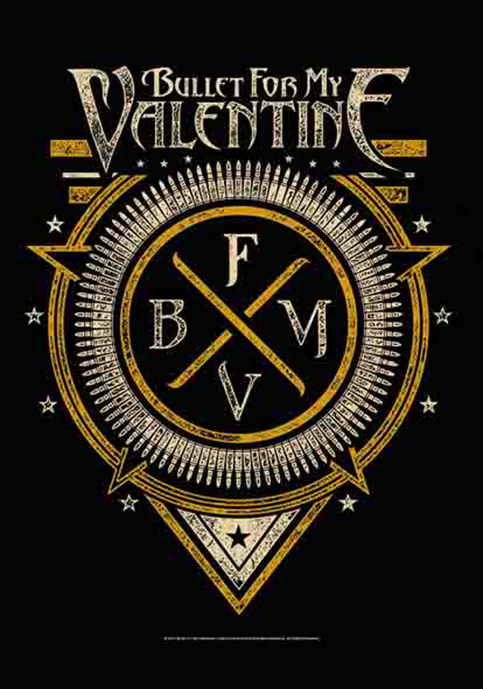 Bullet for my Valentine - Posterflagge - Symbol