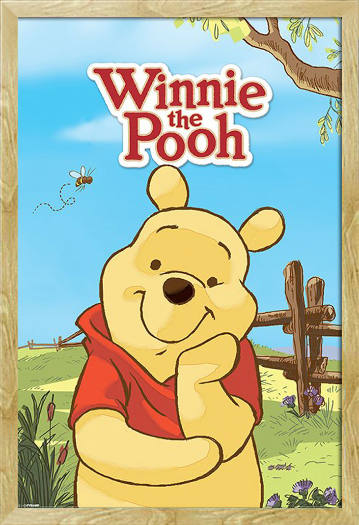 winnie the pooh pooh poster 61x91 5. Black Bedroom Furniture Sets. Home Design Ideas