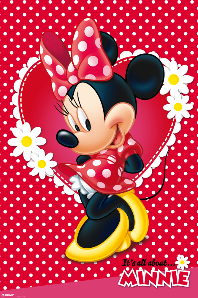 Disney - Minnie Mouse - Poster Plakat - Größe 61x91,5 cm | eBay