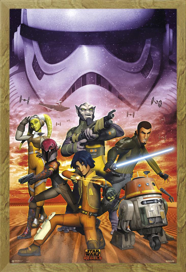 Star Wars - Rebels - Empire - Poster Plakat - Größe 61x91,5 cm | eBay