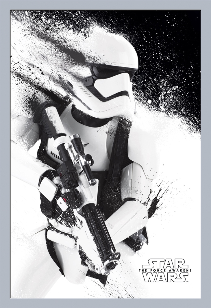 Star Wars - EP7 Stormtrooper - Poster Plakat - Größe 61x91,5 cm | eBay