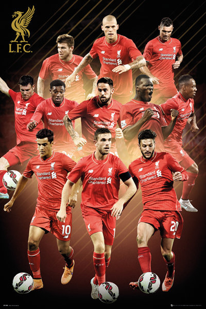 Liverpool FC - Poster - Players 15/16