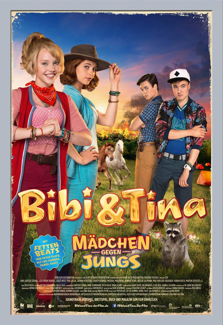 Indexbild 22 - Bibi & Tina - Mädchen gegen Jungs Blocksberg Film Poster Druck Grösse 61x91,5 cm