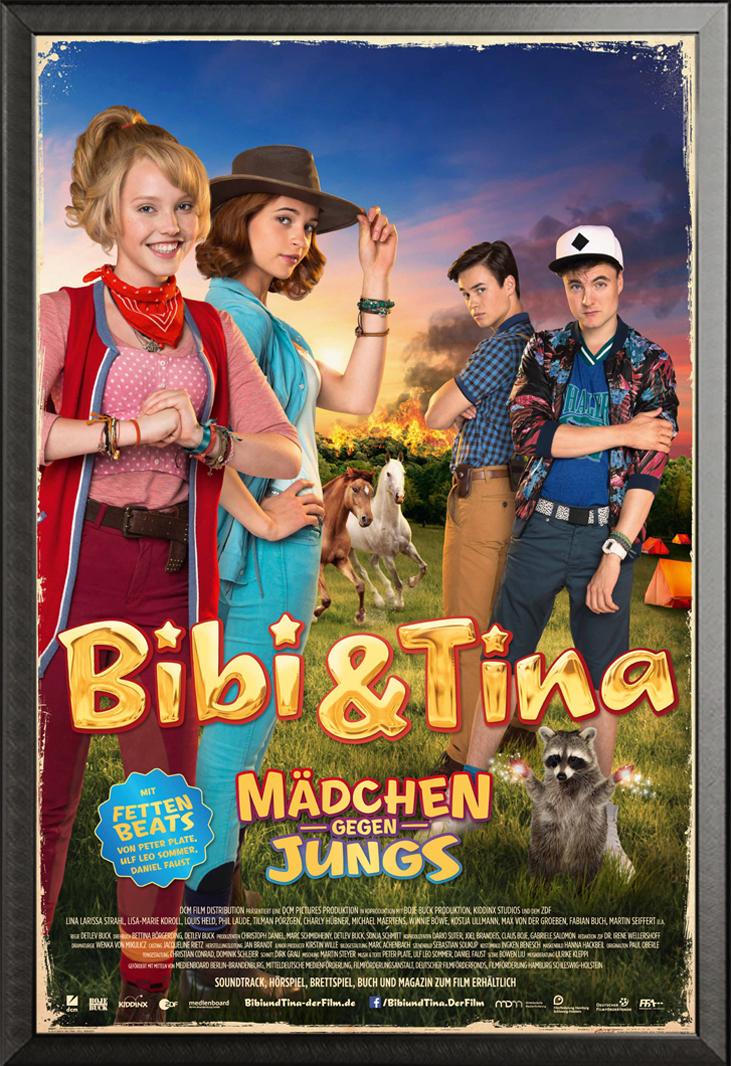Indexbild 28 - Bibi & Tina - Mädchen gegen Jungs Blocksberg Film Poster Druck Grösse 61x91,5 cm