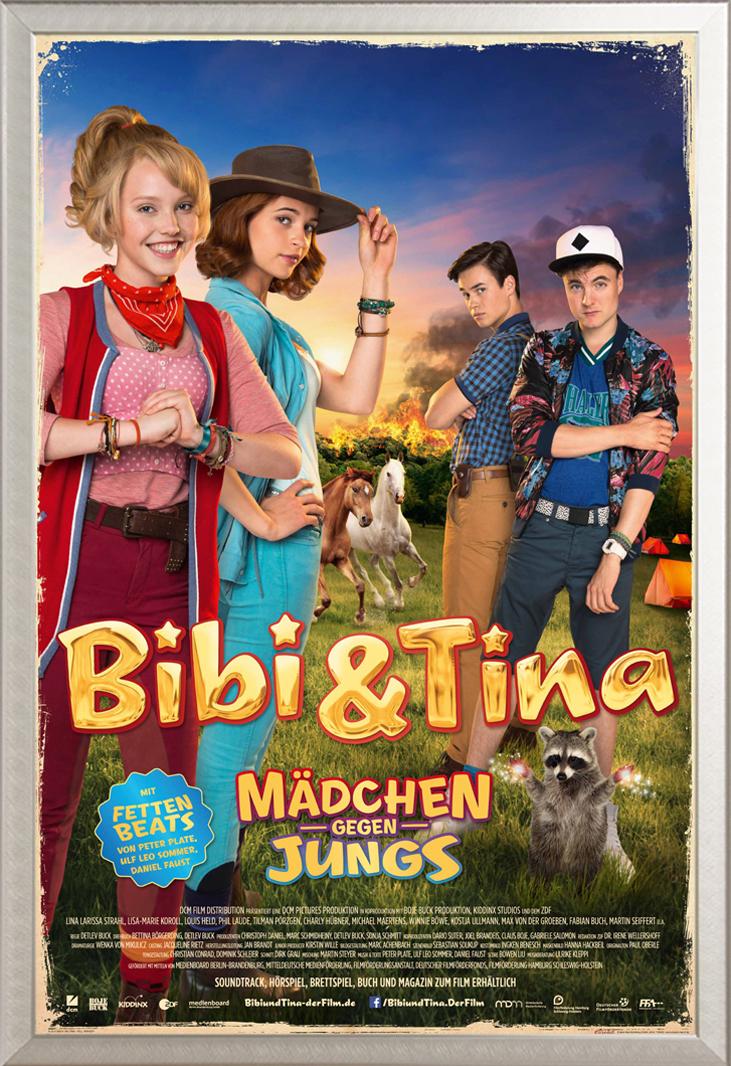 Indexbild 29 - Bibi & Tina - Mädchen gegen Jungs Blocksberg Film Poster Druck Grösse 61x91,5 cm
