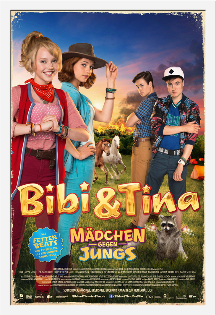 Indexbild 23 - Bibi & Tina - Mädchen gegen Jungs Blocksberg Film Poster Druck Grösse 61x91,5 cm