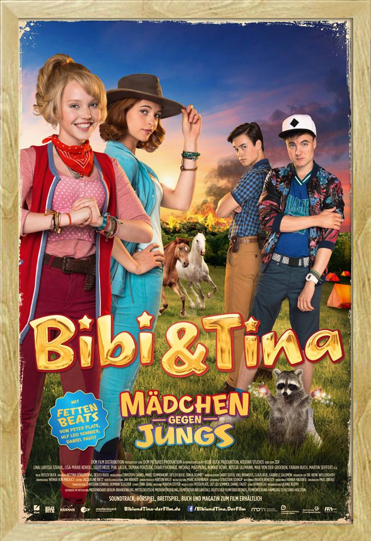 Indexbild 24 - Bibi & Tina - Mädchen gegen Jungs Blocksberg Film Poster Druck Grösse 61x91,5 cm