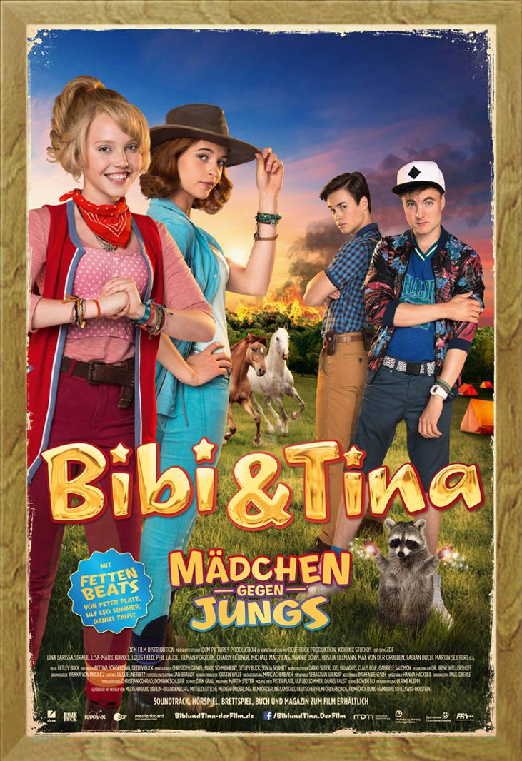 Indexbild 25 - Bibi & Tina - Mädchen gegen Jungs Blocksberg Film Poster Druck Grösse 61x91,5 cm