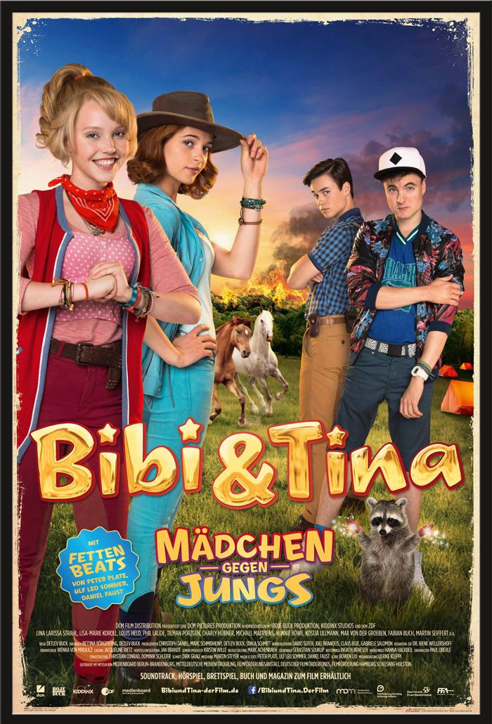 Indexbild 9 - Bibi & Tina - Mädchen gegen Jungs Blocksberg Film Poster Druck Grösse 61x91,5 cm