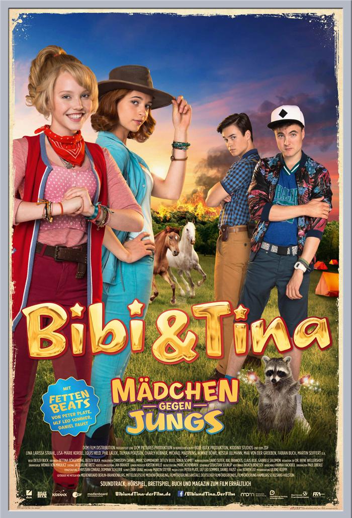 Indexbild 10 - Bibi & Tina - Mädchen gegen Jungs Blocksberg Film Poster Druck Grösse 61x91,5 cm