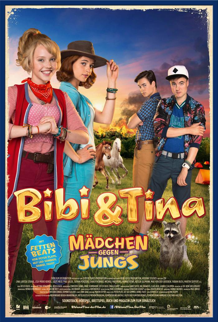 Indexbild 13 - Bibi & Tina - Mädchen gegen Jungs Blocksberg Film Poster Druck Grösse 61x91,5 cm
