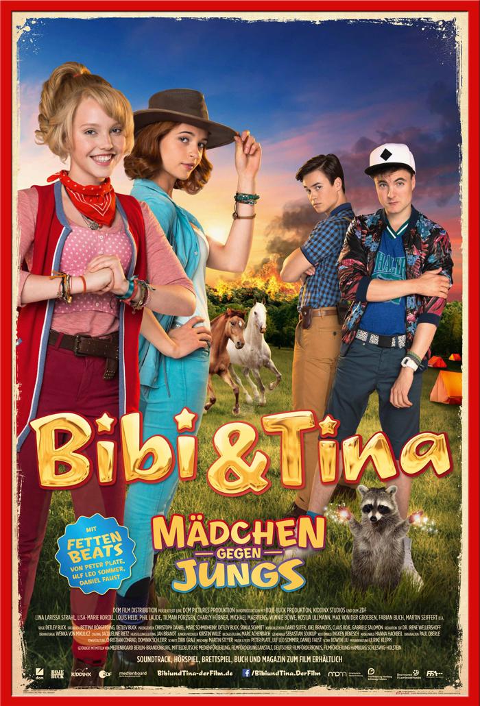 Indexbild 14 - Bibi & Tina - Mädchen gegen Jungs Blocksberg Film Poster Druck Grösse 61x91,5 cm