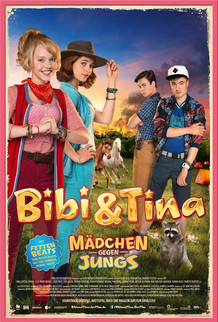 Indexbild 15 - Bibi & Tina - Mädchen gegen Jungs Blocksberg Film Poster Druck Grösse 61x91,5 cm