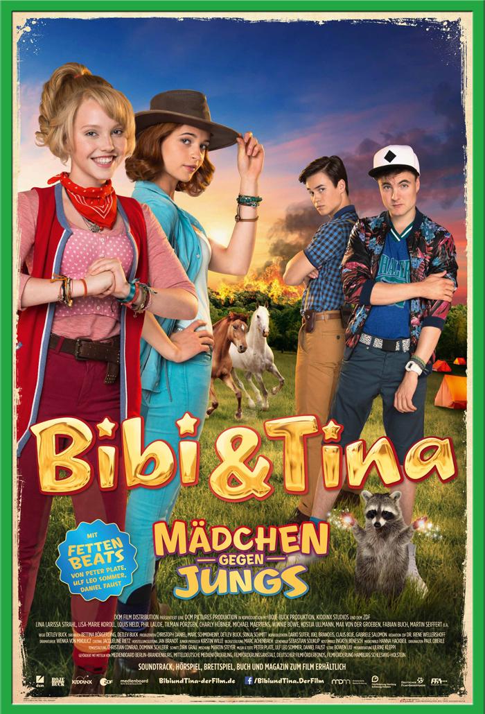 Indexbild 16 - Bibi & Tina - Mädchen gegen Jungs Blocksberg Film Poster Druck Grösse 61x91,5 cm