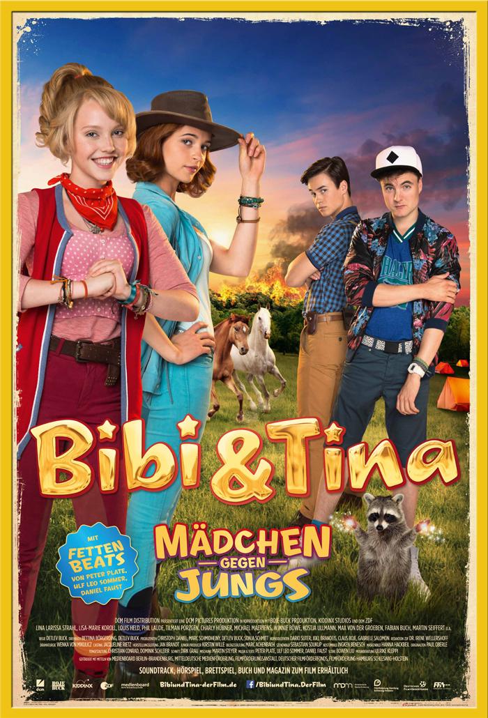 Indexbild 17 - Bibi & Tina - Mädchen gegen Jungs Blocksberg Film Poster Druck Grösse 61x91,5 cm