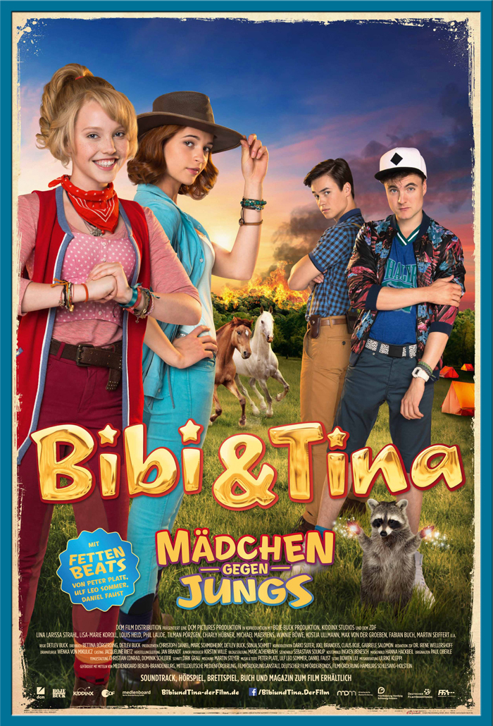 Indexbild 18 - Bibi & Tina - Mädchen gegen Jungs Blocksberg Film Poster Druck Grösse 61x91,5 cm