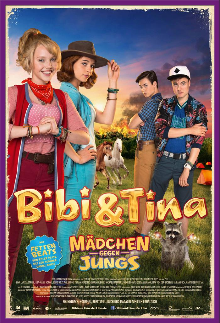 Indexbild 19 - Bibi & Tina - Mädchen gegen Jungs Blocksberg Film Poster Druck Grösse 61x91,5 cm