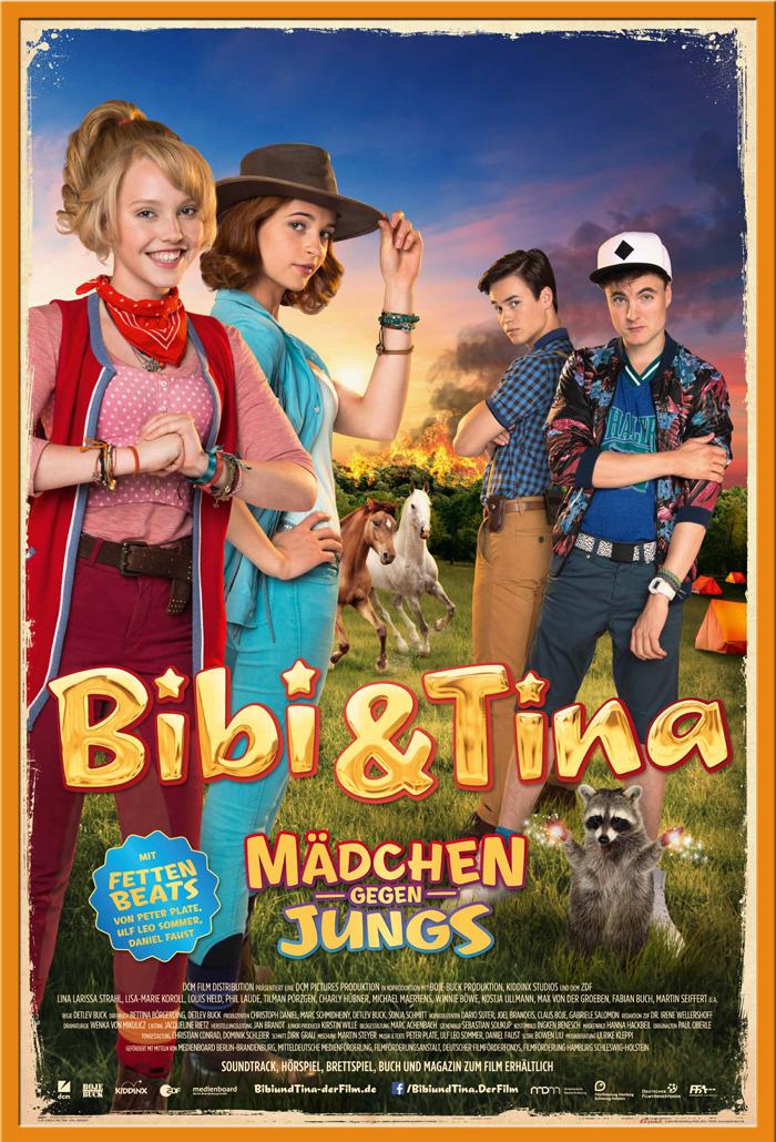 Indexbild 20 - Bibi & Tina - Mädchen gegen Jungs Blocksberg Film Poster Druck Grösse 61x91,5 cm