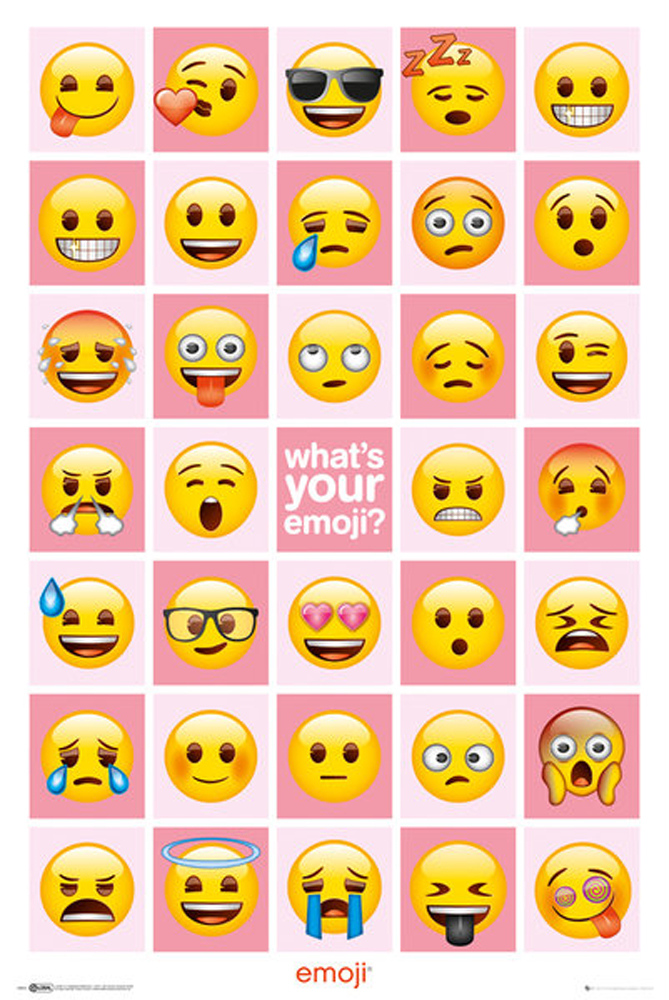 Emoji - Poster - What's Your Emoji