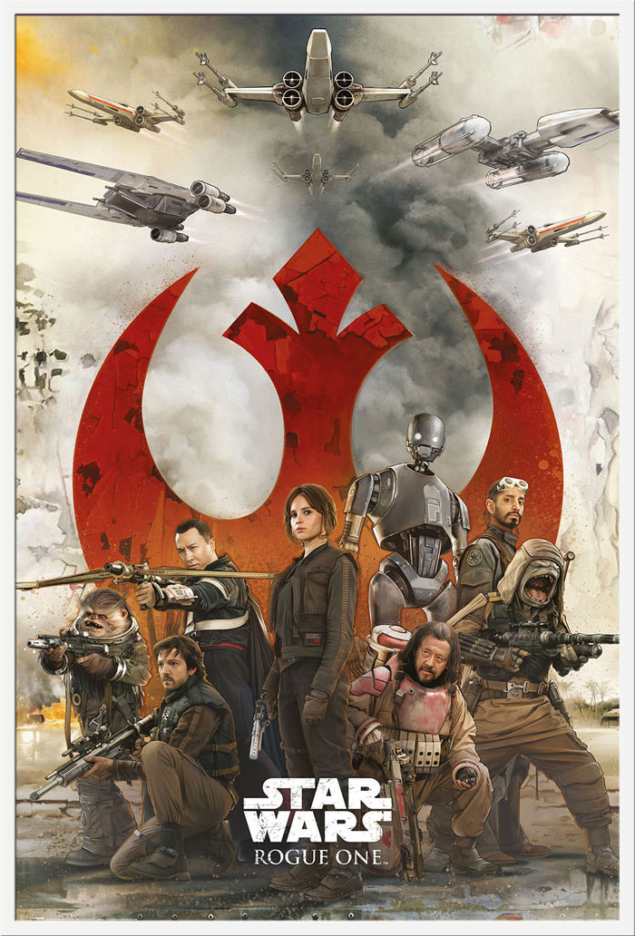 Details zu Star Wars - Rogue One - Rebels Poster Plakat Größe 61x91,5cm