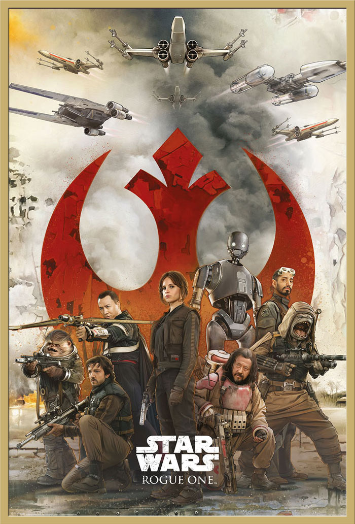 Details zu Star Wars - Rogue One - Rebels Poster Plakat Größe 61x91,5cm