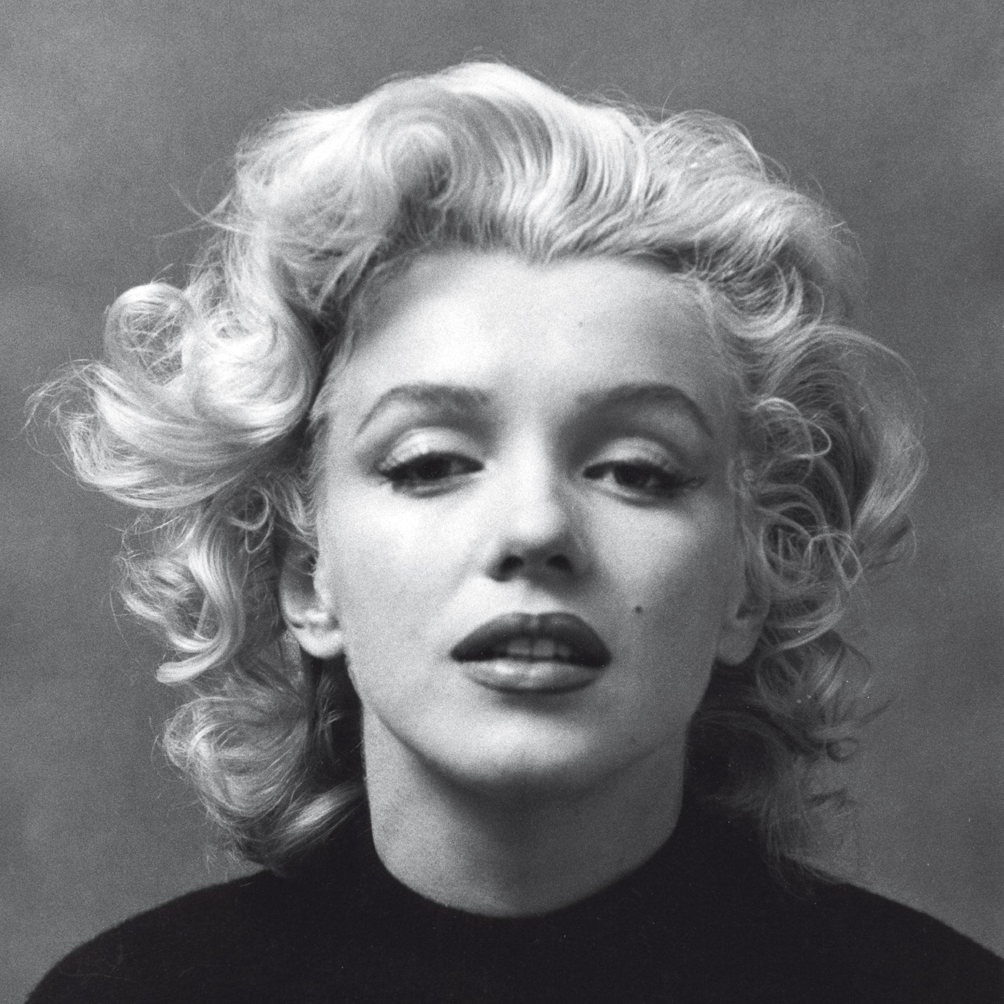 Marilyn Monroe - Black & White - Gerahmte Topseller - 33x33x2,2