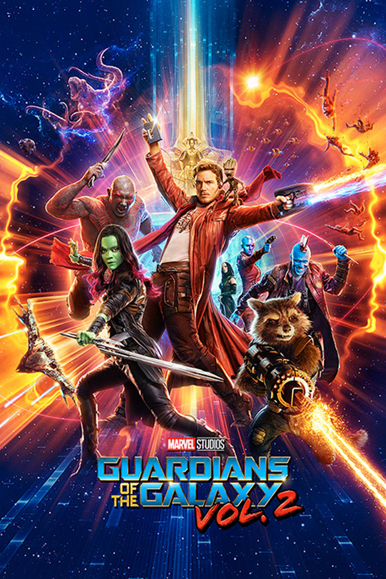 Guardians of the Galaxy - Poster - Vol. 2 - One Sheet